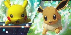 Pokémon: Let's Go, Pikachu! Pokémon: Let's Go, Evee! banner megaslide