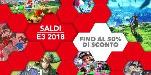 Nintendo saldi E3 2018 megaslide
