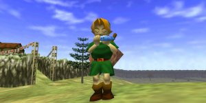 The Legend of Zelda: Ocarina of Time megaslide