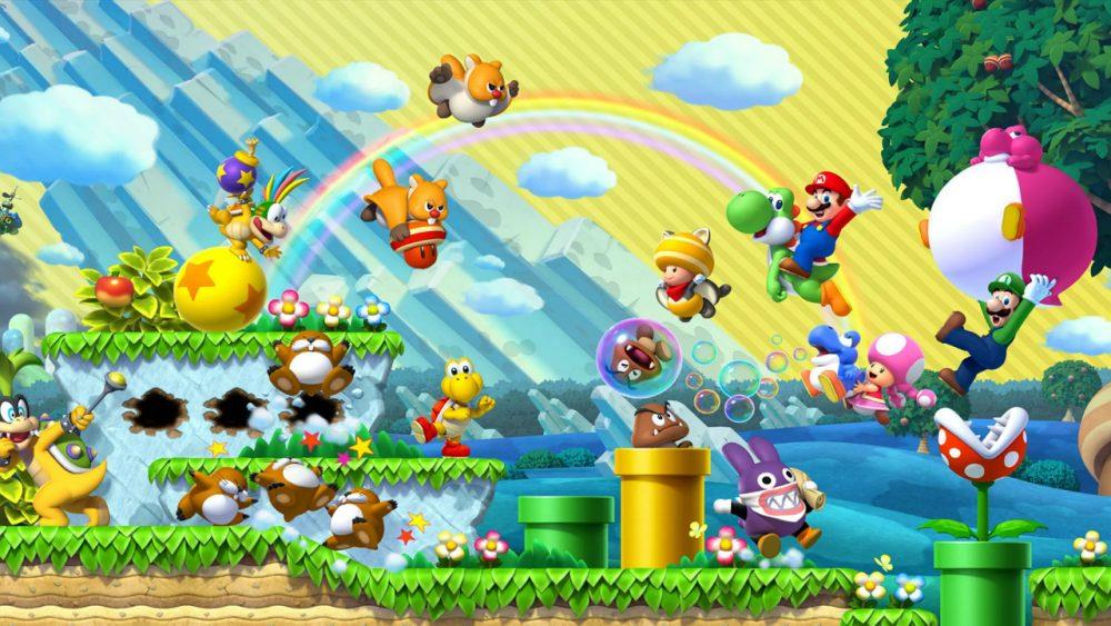 New Super Mario Bros. U Deluxe banner scheda