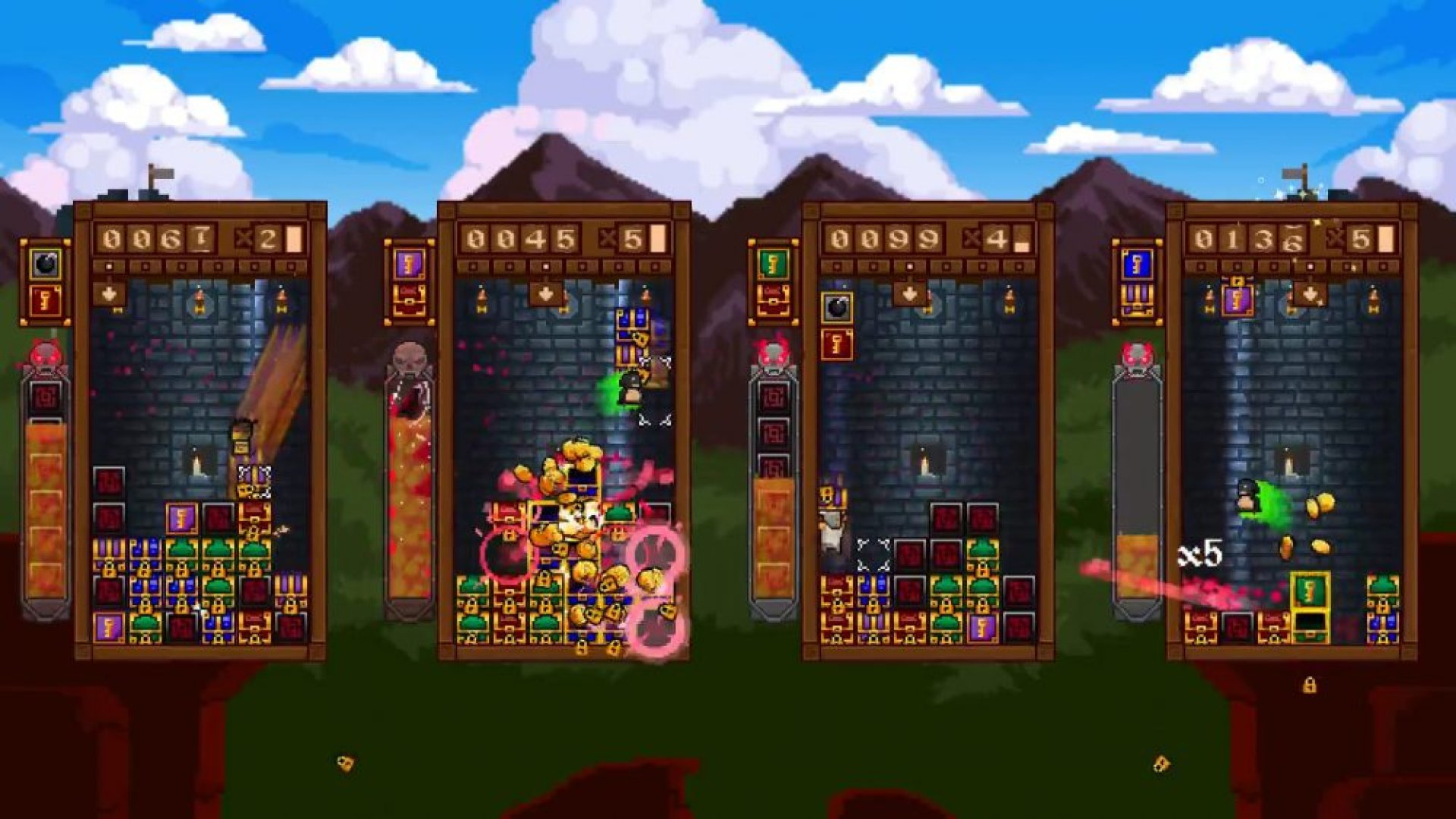 Treasure Stack screenshot