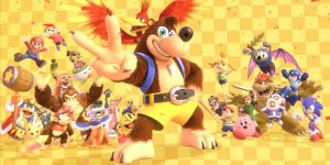 Super Smash Bros. Ultimate Banjo Kazooie banner