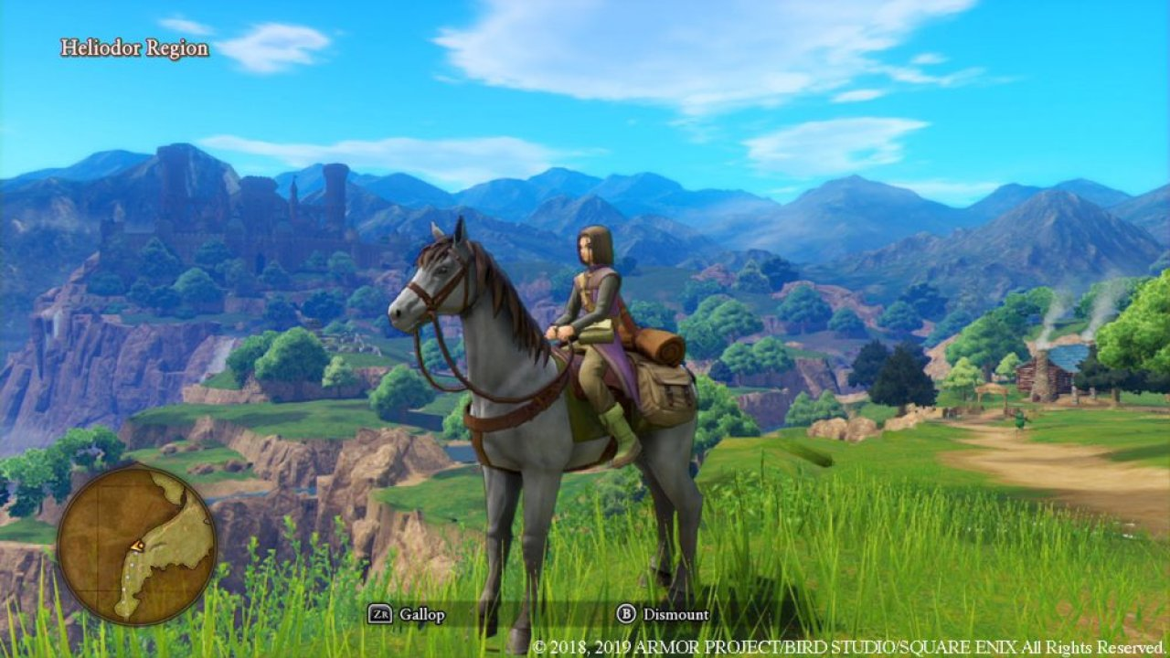 Dragon Quest XI S: Echi di un'era perduta - Edizione definitiva screenshot