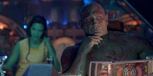 Guardiani della Galassia: Drax è ubriaco in una nuova scena tagliata