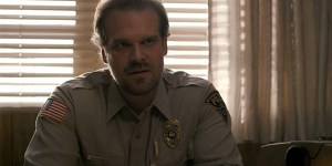 David Harbour Stranger Things Hellboy