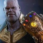 Avengers: Infinity War, ecco la figure di Thanos con il Guanto dell'Infinito targata Hot Toys