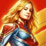 Captain Marvel: la supereroina interpretata da Brie Larson in un nuovo poster del film