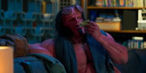 Hellboy prende vita in una featurette in lingua originale