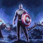 Avengers: Endgame, Thor, Cap e Iron Man tra presente e passato in un esclusivo poster