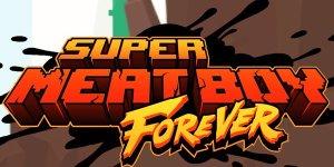 Super Meat Boy Forever banner