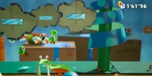 Yoshi's Crafted World banner