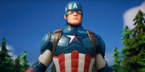 Fortnite Captain America