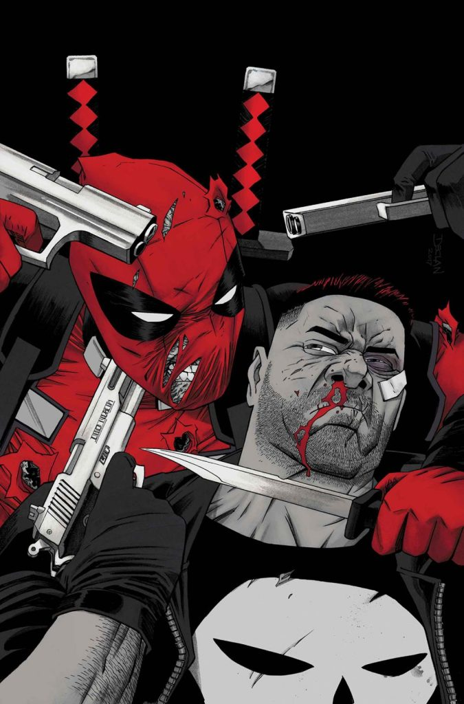 Deadpool vs. the Punisher #3, copertina di Declan Shalvey