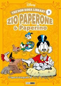 Don Rosa Library - Zio Paperone & Paperino vol. 3, copertina di Don Rosa