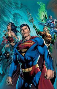 Man of Steel 1, copertina di Ivan Reis