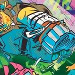 Panini Comics: le prime tavole di Gurt e l'ascensore dei mondi, di Isaak Friedl e Oscarito
