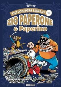 The Don Rosa Library: Zio Paperone e Paperino 10, copertina di Don Rosa