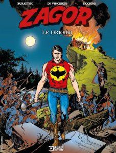 Zagor: Le origini, copertina di Michele Rubini