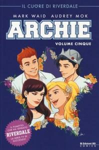 Archie vol. 5, copertina di Audrey Mok