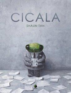 Cicala, copertina di Shaun Tan