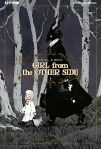 Girl from the other side 1, copertina di Nagabe