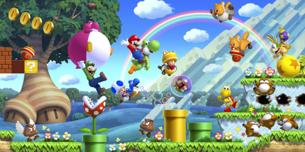 New Super Mario Bros. U banner