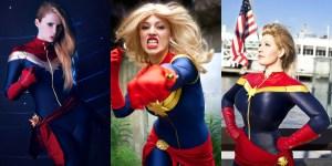 Banner Captain Marvel Cosplay