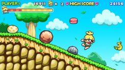 Wonder Boy Returns screenshot