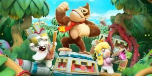 Mario + Rabbids Kingdom Battle Donkey Kong Adventure banner megaslide
