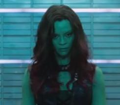 Guardians of the Galaxy: Zoe Saldana presenta Gamora!