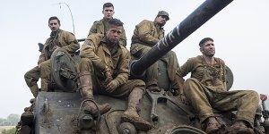 Due nuove clip italiane di Fury, il war movie con Brad Pitt