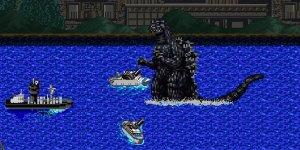 Ecco Godzilla in versione 8-Bit