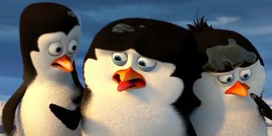 pinguini di madagascar banner