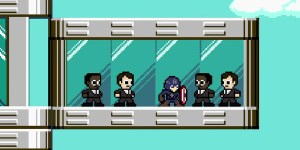 Captain America the winter soldier 8 bit