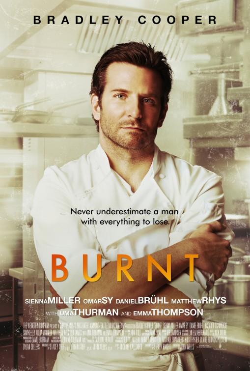 Burnt Adam Jones Poster