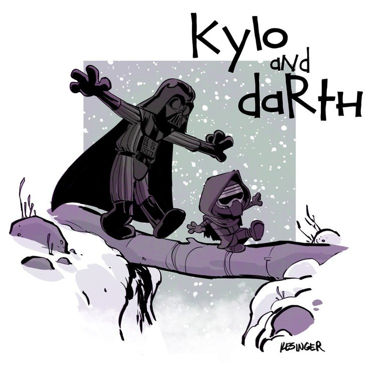 star-wars-the-force-awakens-gets-calvin-hobbes-style-mashup-art-series1