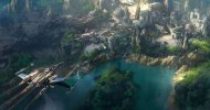 Star Wars Land: in volo sul parco grazie ad un suggestivo concept art