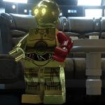 Star Wars: Il Risveglio della Forza, le origini del braccio rosso di C-3PO in un DLC di LEGO Star Wars