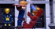 LEGO Civil War: Iron Man e Captain America si scontrano in un epico video in stop-motion