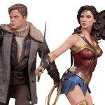 Wonder Woman: ecco le statuette di Steve Trevor e di Diana Prince firmate dalla DC Collectibles
