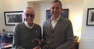 Stan Lee premiato dalla Disney per i suoi 75 anni di lavoro alla Marvel