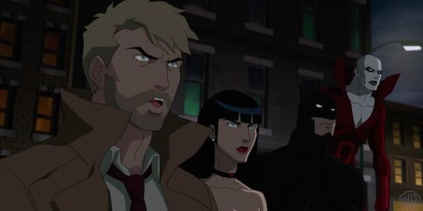 Justice league dark online una nuova clip del film di