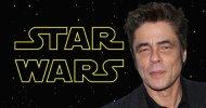 Star Wars: Gli Ultimi Jedi, nuovi rumour sul ruolo di Benicio Del Toro e sul look di Kylo Ren