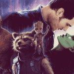 Guardiani della Galassia Vol. 2: ecco il poster di Matt Ferguson ispirato a quello dell'Impero Colpisce Ancora