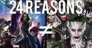 Suicide Squad e Guardiani della Galassia, 24 punti per spiegare perché i film non si assomigliano