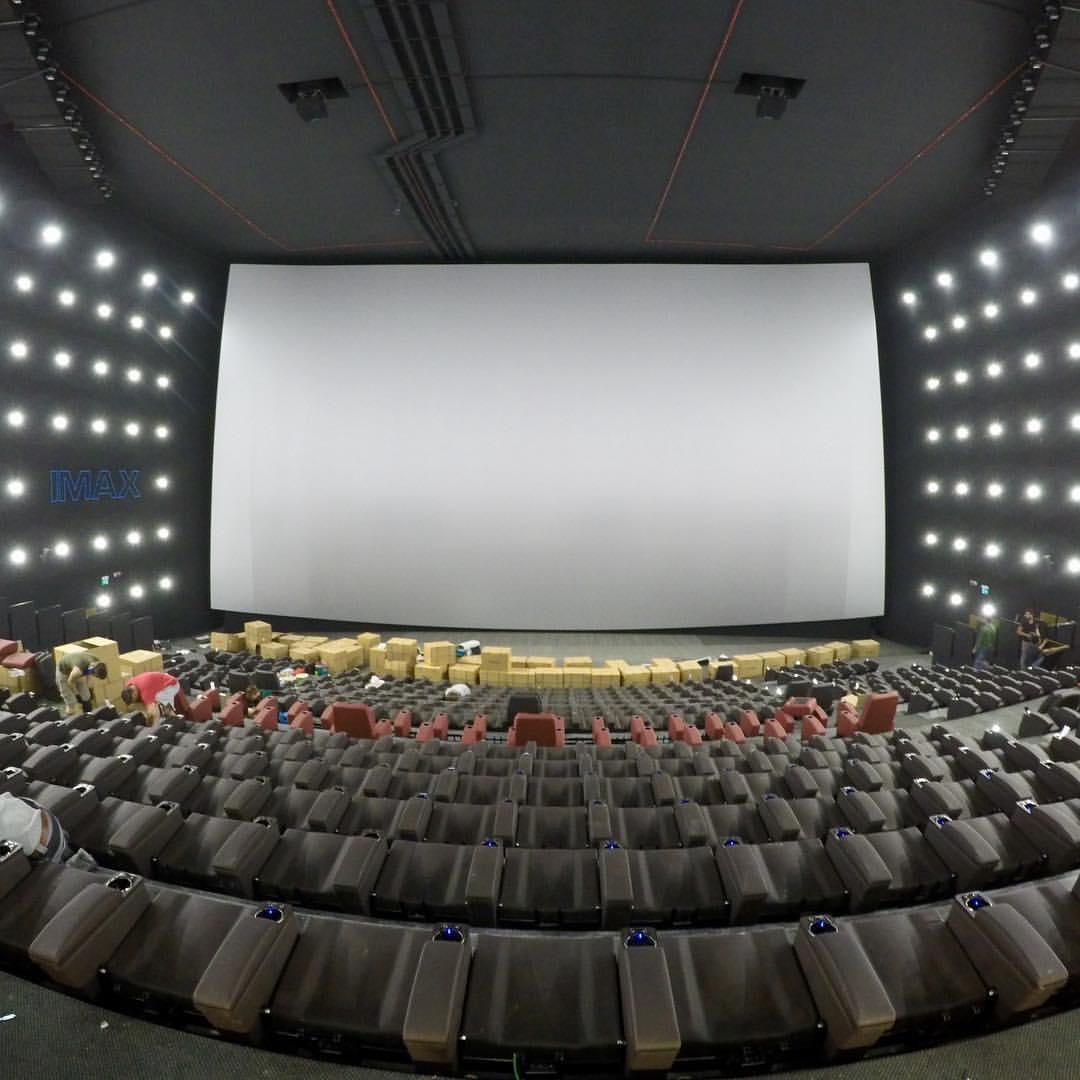 UCI Cinemas Orio, prime immagini della sala IMAX più ...