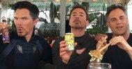 Avengers: Infinity War, nuova foto dal dietro le quinte con Tony, Bruce e Stephen!