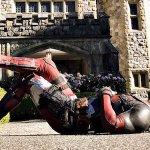 Deadpool 2: il Mercenario Chiacchierone al compleanno di un bimbo nelle foto dal set