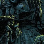 Il Cavaliere Oscuro: ecco il suggestivo poster artistico firmato da Dan Mumford