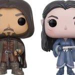 Comic-Con 2017: ecco i Funko POP! di Aragorn e Arwen da Il Signore degli Anelli